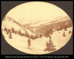 Image of W. H. J. Crossing Alpine Pass