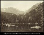Image of Ypsilon Lake and Mountain, R. M. N. P.