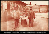 Convicts carrying the soup barrel, Khabarofsk