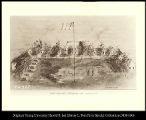 Image of Fort Kearney, Nebraska, 1864, looking west