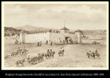 Image of Old Fort Laramie as Francis Parkman saw it
