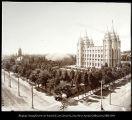 Image of Mormon Temple and Tabernacle, Salt lake City, Utah