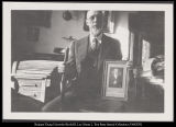 Image of Photograph of George Albert Smith in his office