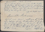 Image of Lyman Wight receipt to Charles and Jane Weeden