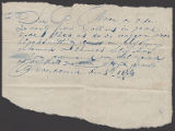 Joseph Smith, Jr. note to J. Morse