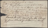 Samuel Bent receipt to Edward Weaver
