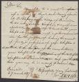 Newel Kimball Whitney letter to Painesville, Ohio Masonic Chapter