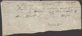 Lyman Wight receipt to John A. McIntosh