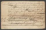 Image of Abraham Kintzing notes